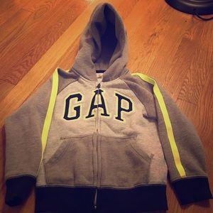 Gap 5 Toddler zip sweatshirt